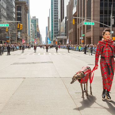 KT Tunstall and King @ NY Tartan Parade.