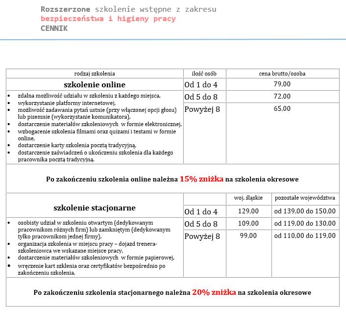 Cennik_szkolenie_wstępne_bhp_rozszerzon