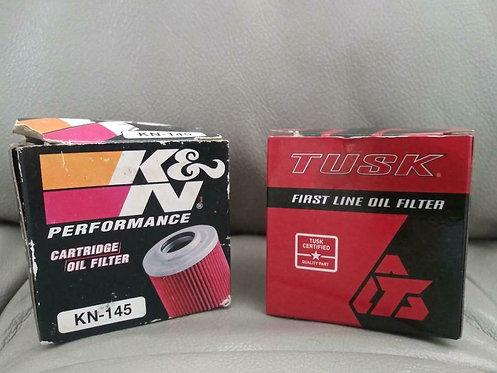 NOS, Oil Filter K&N + Tusk, 2 Pack YFM 700R|SE