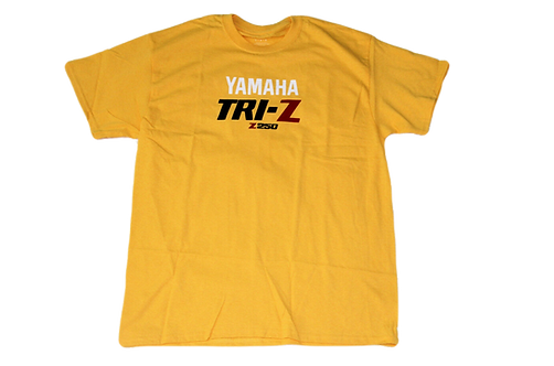Yamaha TRI-Z YTZ 250 ATC Custom T-Shirt - Yellow