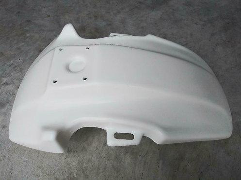 Front Fender, White Honda TR 200 Fat Cat