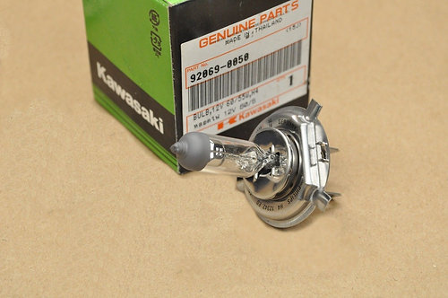 Genuine OEM Bulb,12V 60/55W,H4 - Kawasaki Tecate KXT250