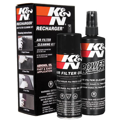 K & N RECHARGER Air Filter Cleaning Kit