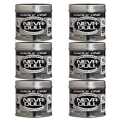 Eagle One Nevr-Dull Wadding Polish, 5 oz (Pack of 6)