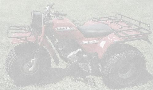 1986 Honda Big Red 250ES ATC - $3,500