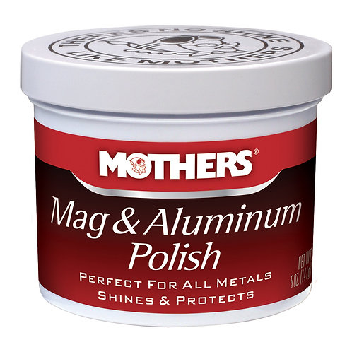 Mothers Mag & Aluminum Polish, 5oz