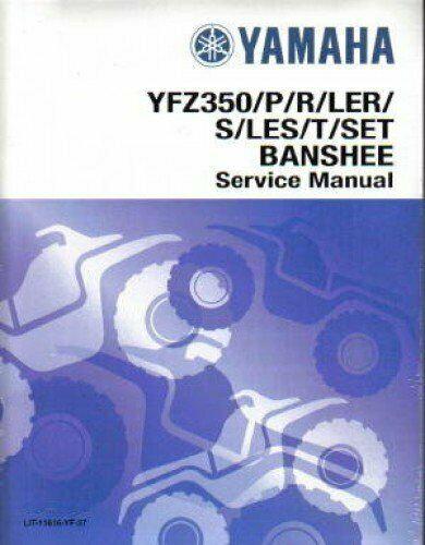 Genuine Yamaha OEM YFZ 350 Banshee Service Manual