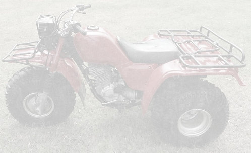 1985 Honda Big Red 250 ES ATC - $3900