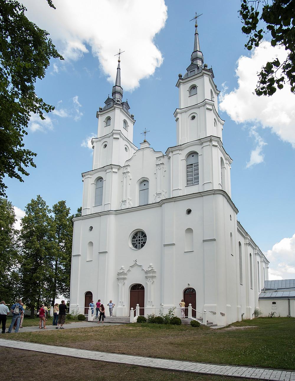 Viļānu baznīca