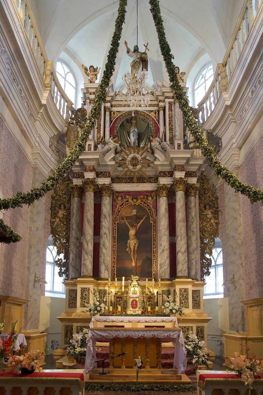 Skaistkalne Catholic Church in Latvia