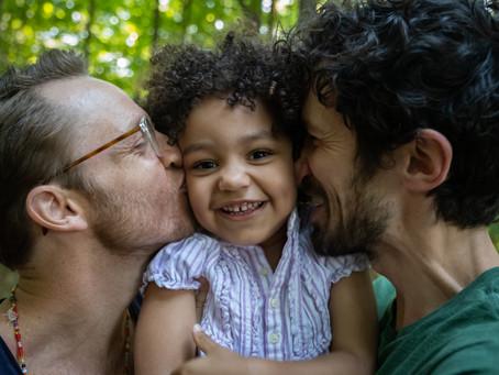 A Joyful Family Photo Shoot at SPAC in Saratoga Springs, NY