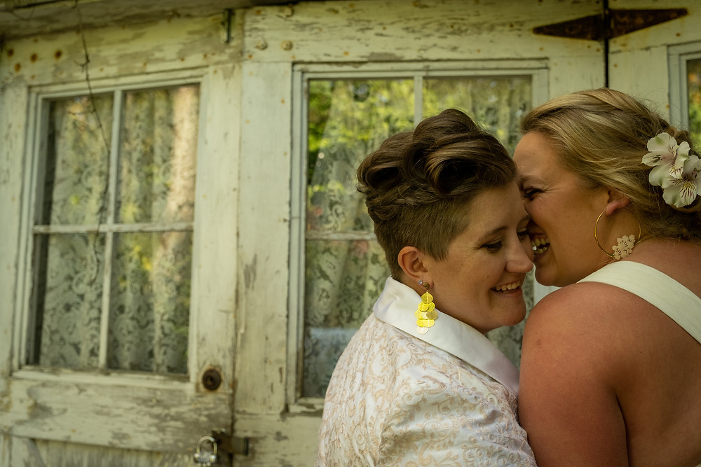 LGBTQ Intimate Elopement with Friends and Family