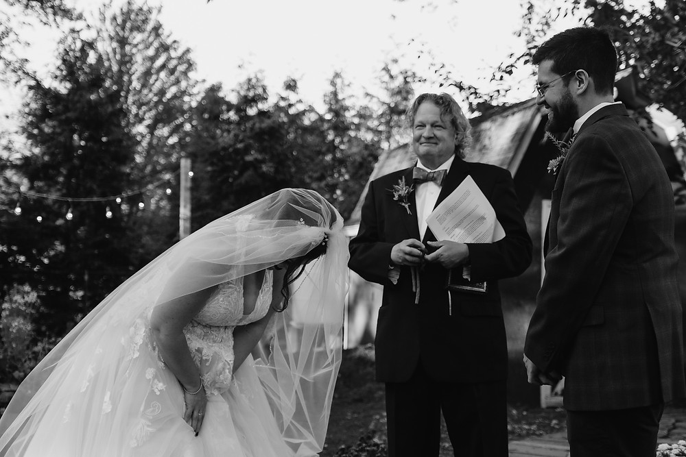 Intimate Backyard Elopement Filled With Laughter