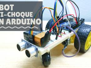 Fabricación de un Carro Anti-choque con Arduino