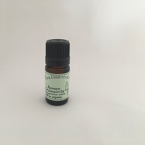 Chamomile German 3% in Jojoba Organic Essential Oil