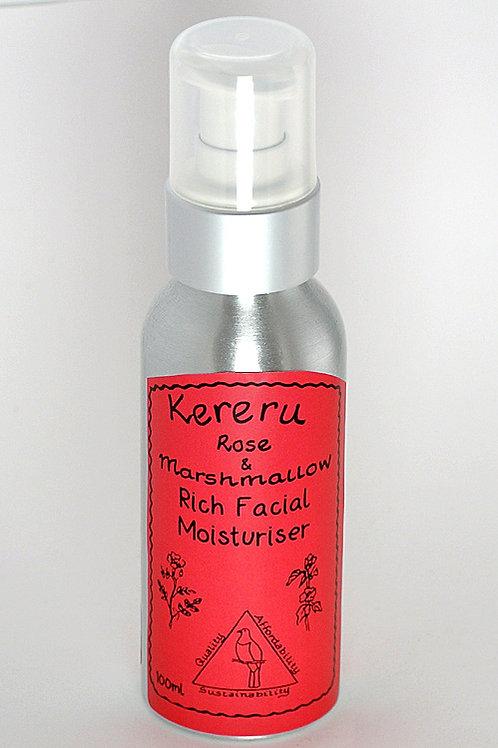 Rose & Marshmallow Rich Facial Moisturiser - 100ml