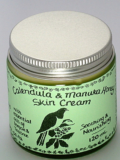 Teatree, Lemon Calendula & Manuka Honey Skin Cream - 120mL