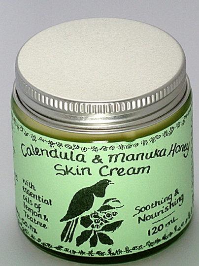 Teatree, Lemon Calendula & Manuka Honey Skin Cream - 120mL