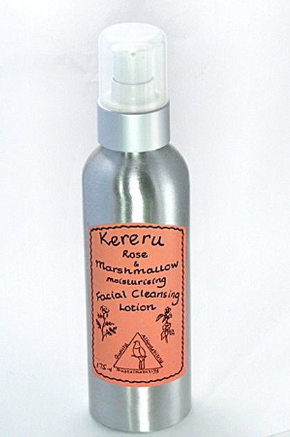 Rose & Marshmallow Moisturising Facial Cleanser - 175mL