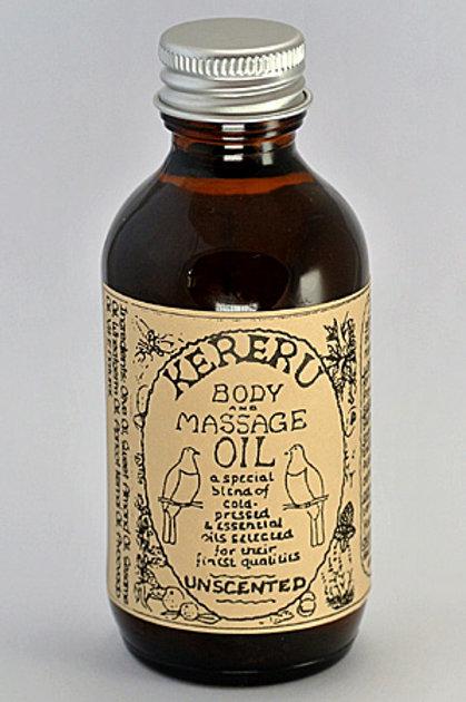 Unscented Massage Oil - 100mL