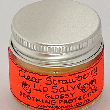 Strawberry Lip Salve - 15mL