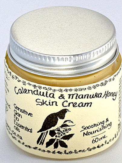 Calendula & Manuka Honey Unscented Skin Cream - 65mL