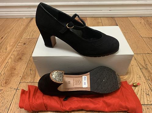 Women's Flamenco Shoe 37 Suede