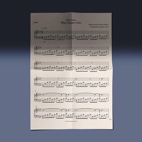 """Miss Sloane Solo"" Sheet Music"