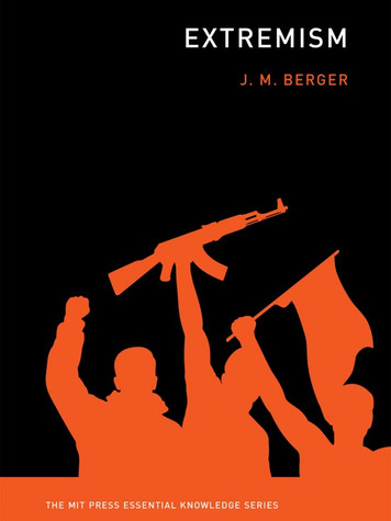 'Extremism' by J. M. Berger