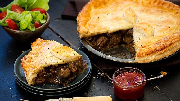 Meat Pie- Steak & Mushroom