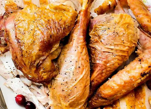 Classic Selection of White & Dark Turkey Meat Portions