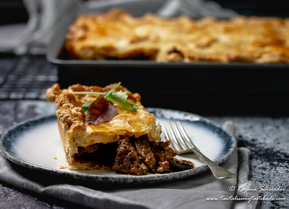 Meat Pie- Steak & Guiness