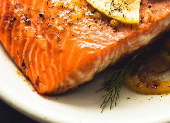 Lemon Dill Salmon Filet