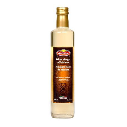 REGINA MOLISANA WHITE VINEGAR OF MODENA- GLASS BOTTLE