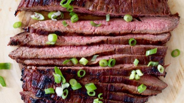 Honey Soy Flank Steak