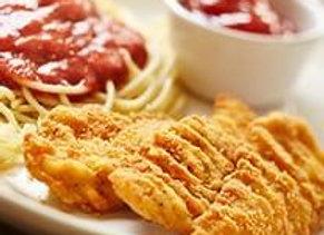 Chicken fingers | Penne Pasta