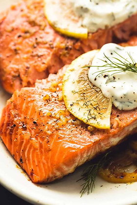 Lemon Dill Salmon Filet