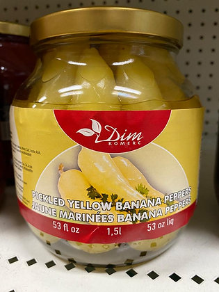 PICKLED YELLOW BANANA PEPPERS