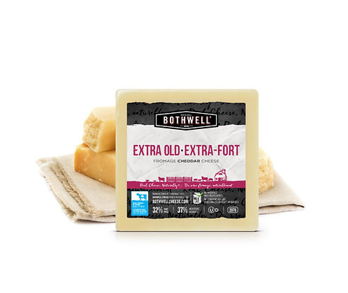 Maple Smoked Extra Old  Fromage Cheddar Cheese