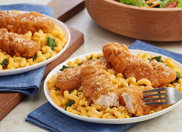 Chicken cutlet | Mac + Cheese