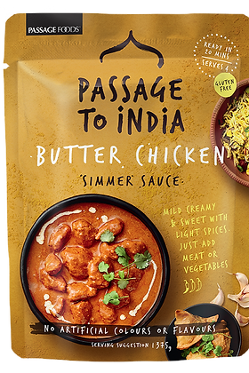 PASSAGE TO INDIA- SIMMER SAUCES