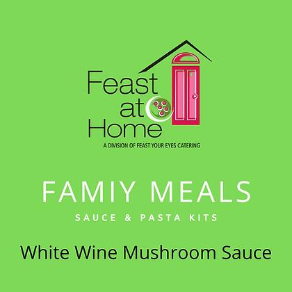 White Wine Mushroom Sauce