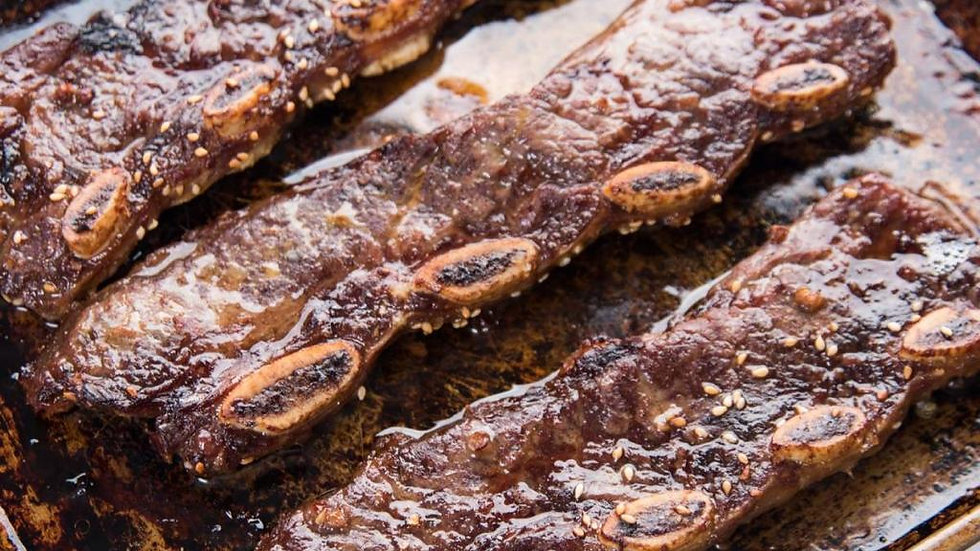 Thinly Sliced Short Ribs