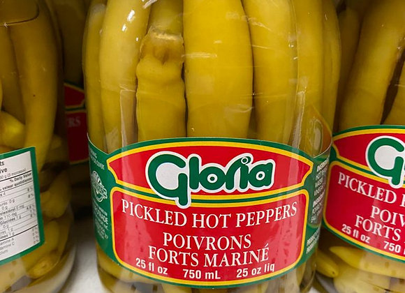 GLORIA PICKLED HOT PEPPERS