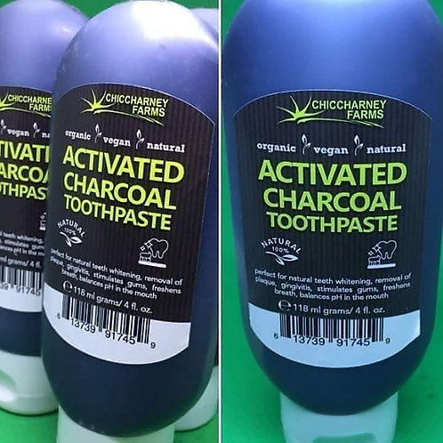Activate Charcoal Toothpaste