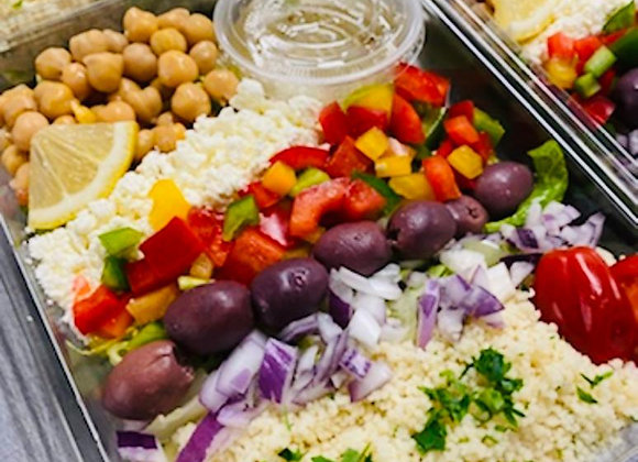 Greek Cous Cous Salad