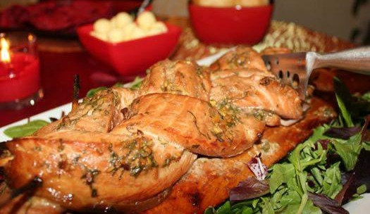 Braided Side of Salmon