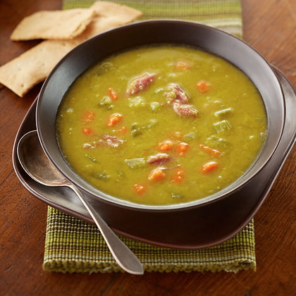 Canadian Pea Soup w/ Smoked Hock