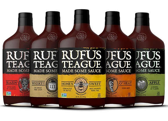 RUFUS TEAGUE - BBQ SAUCE