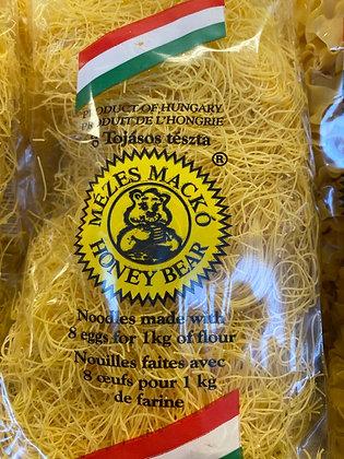 HUNGARIAN HONEY BEAR  EGG NOODLES- Rick Fine Noodles